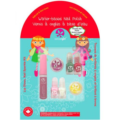 Suncoatgirl Kit Maquillage Ongles & Lèvres Holiday Magic